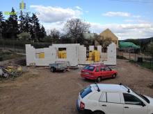 Stavba rodinného domku v Masečíně 19